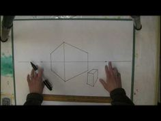Nice video on 2 Point Perspective Drawing. I had Art Links class follow along. Then did a class demo. Seemed to help.