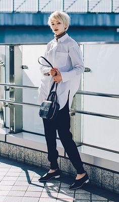Ad Fashion, Office Fashion, Fashion Books, Fashion Photo, Love Fashion, Korean Fashion, Girl Fashion, Fashion Outfits, Womens Fashion