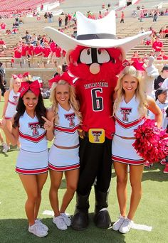 Senior Club, Texas Tech, Free Agent, Sports Illustrated, Sport Girl, College Football, Cheerleading, Cheer Skirts, Team Cheer