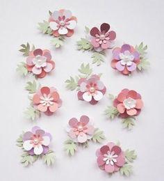 Paper flowers - #paperflowers