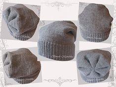 шапка бини спицами выкройка - Поиск в Google