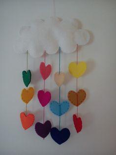 Love raining in my daughter's room :)