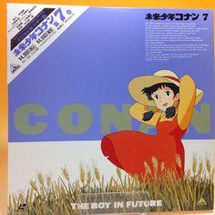 Conan, the Boy in Future (TV) vol.7 (1978) BEAL-327 LD LaserDisc OBI Japan AA582