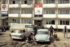Das Auto im Sozialismus Plattenbau