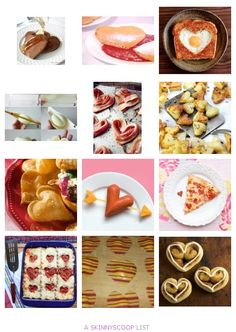 Heart Shaped Food Ideas to Love