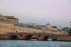 Прачечный мост и набережная реки Фонтанки. Album, Taj Mahal, Saints, Landscapes, Urban, World, Building, Travel, Art