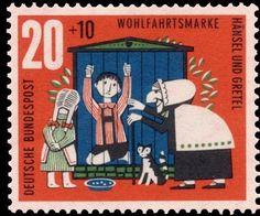 Alemania 1960-Cuentos Infantiles-Hansel y Gretel