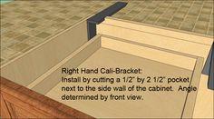 Granite bracket, granite brackets, counter top support, counter top support bracket