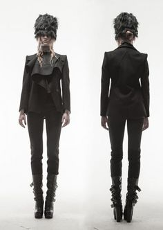 haizen wang autumn/winter 2012. without the hat, lol.