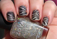 Textured Water Marble with Zoya Cosmo