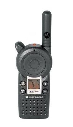 Motorola Professional CLS1410 5-Mile 4-Channel UHF Two-Way Radio