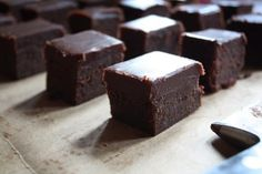 Chocolate mascarpone brownies (no mixer needed) - wow!