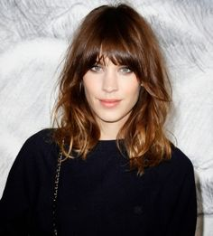 Major props to Alexa Chung for her iconic lob.