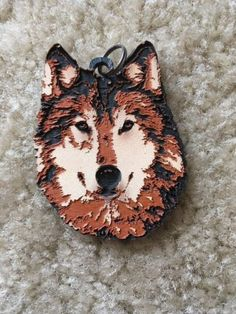 Wild-Ones-Wolf-Pendant-Geocaching-Geocoin-Trackable-ACTIVATED-ADOPTABLE