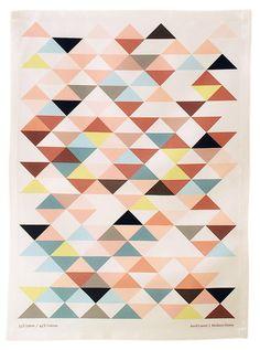 Triangle Trend - Tea Towel homerandruth.com