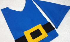 Gnome Costume Set  Blue by TeatotsPartyPlanning on Etsy