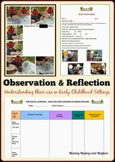 Observing and Reflecting in Early Childhood Settings - Mummy Musings and Mayhem