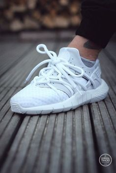 Nike Air Huarache NM: White || Follow FILET. for more street wear #filetclothing