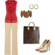 Business Casual, created by lisa-spellman.polyvore.com