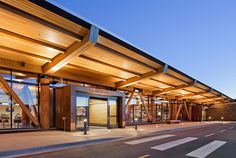 Jackson Hole Airport, by architecture firm Gensler, won the Institutional Wood Design category (Photo: Matthew Millman Photography) Window Canopy, Canopy Curtains, Canopy Bedroom, Fabric Canopy, Ikea Canopy, Diy Canopy, Canopy Tent, Beach Canopy, Canopies