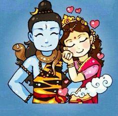 Shiv and shakti Shiva Parvati Images, Durga Images, Shiva Shakti, Shiva Art, Hindu Art, Lord Shiva Hd Wallpaper, Lord Shiva Family, Lord Shiva Painting, Happy Navratri