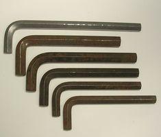 Unbrako 1//4 AF Allen key Hexagon Spanners Nuts Bolts Garage tools Vintage tool