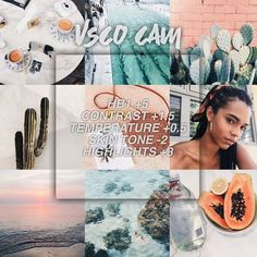 Most popular vsco photography filters pictures ideas Vsco Filters Summer, Best Vsco Filters, Free Vsco Filters, Instagram Theme Vsco, Foto Instagram, Instagram Feed, Vsco Pictures, Editing Pictures, Vsco Pics