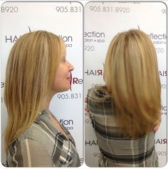 Blonde Bombshell, HighLights & LowLights at Hair Reflection