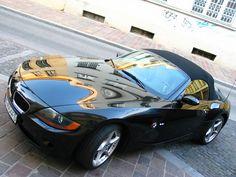 Bmw E86 Z4 M Coupe Black Wide Stance Bmw Roadsters