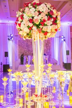 Really neat ..a main entrance table centerpiece.  Very elegant. !