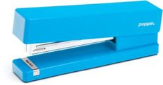 Shop Staples® for Poppin Pool Blue Stapler. $14