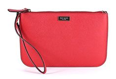 Kate Spade Lolly Wristlet (Red)