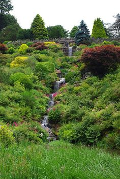 Alton Towers Gardens, Staffordshire, England