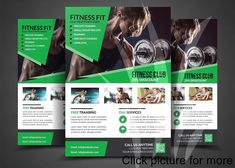 Fitness Flyer Template Free Fitness Flyer Gym Flyer Templates Flyer Templates On
