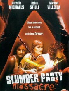 Slumber Party Massacre Horror Movie Slasher