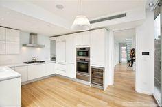 A Modern White Kitchen in NYC