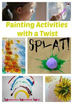 Painting Activities for Kids with a Twist - The Jenny Evolution