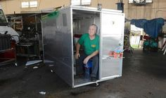 Portable homes for the homeless? Food truck builder designs micro pod.