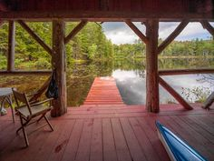 Behind the Front Door of Lake Placid's Great Camps | When staying at: Lake Placid Lodge