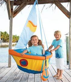Sail Boat Children's Swing