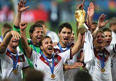 Alemania Campeon.... Mundial Brasil 2014. partido final entre Argentina y Alemania en el Maracana de Rio de Janeiro. Brasil. 13 julio de 2014.