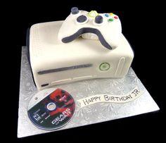 Xbox cake! Noah will LOVE this!