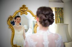 One of our beautiful brides  Hair & makeup Lipstick and Curls http://www.lipstickandcurls.net/services/bridal-styling/ Photography Mease Valley Photography http://measevalleyphoto.co.uk/