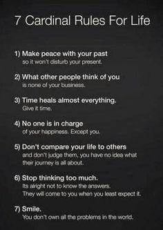 7 Cardinal rules to #life ORGANIC World - Community - Google+