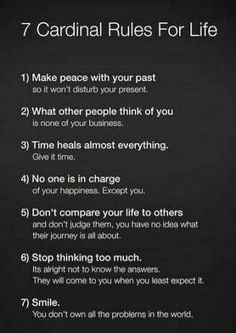 7 Cardinal rules to #life ORGANIC World - Community - Google+