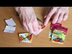 Blog decoDoma - Skládání z čajových sáčku (Tea Bag Folding)