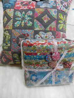 Pattern by Emma Jean Jansen - 8/15-Lovely Liberty Cushion Kit | 14624- | Millrose | Kits | Millrose Quilting & Gallery - Buy Online