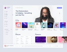 Music Ui Desktop Design designed by Masudur Rahman . Connect with them on Dribbble; the global community for designers and creative professionals. Bureau Design, Dashboard Ui, Dashboard Design, Music Player Website, Ux Design, Layout Design, Fluent Design, Design Light, Desktop Design