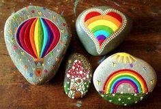 Adorable 72 Inspirational DIY of Painted Rocks Ideas https://besideroom.co/72-inspirational-diy-painted-rocks-ideas/