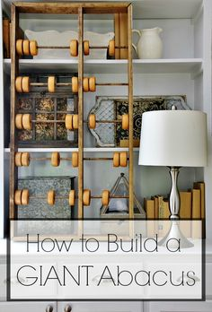 how to build a giant abacus